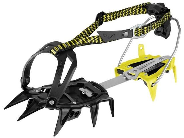 SALEWA Alpinist Combi Crampons, black/yellow